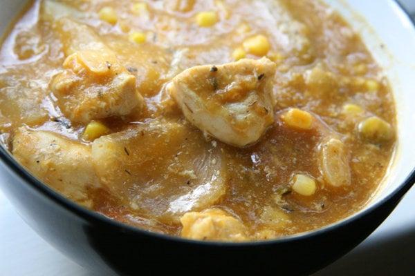 Harvest Chicken Apple Stew