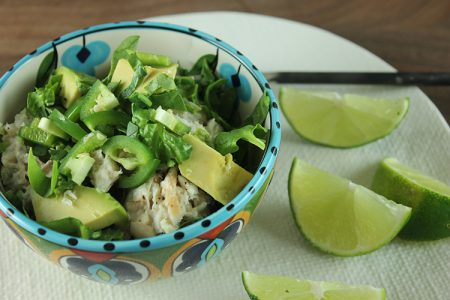 Jalapeño Lime Tuna Salad