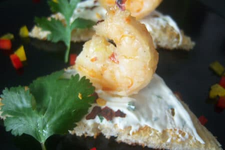 Lemongrass Shrimp on Toast Recipe