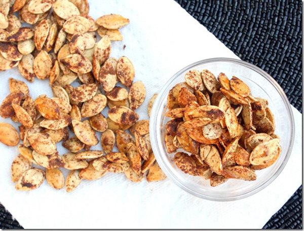 Maple Cinnamon Pumpkin Seeds
