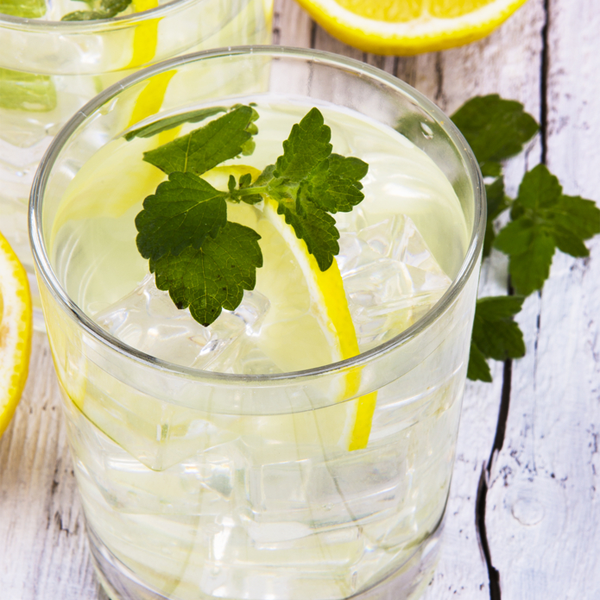 Morning Lemon Mint Water