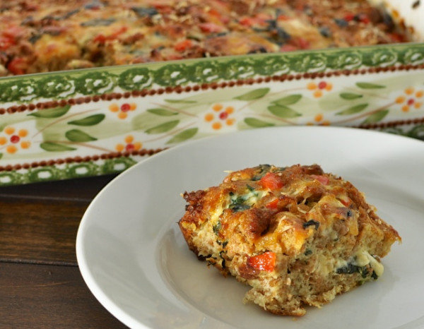 Nourishing Breakfast Casserole