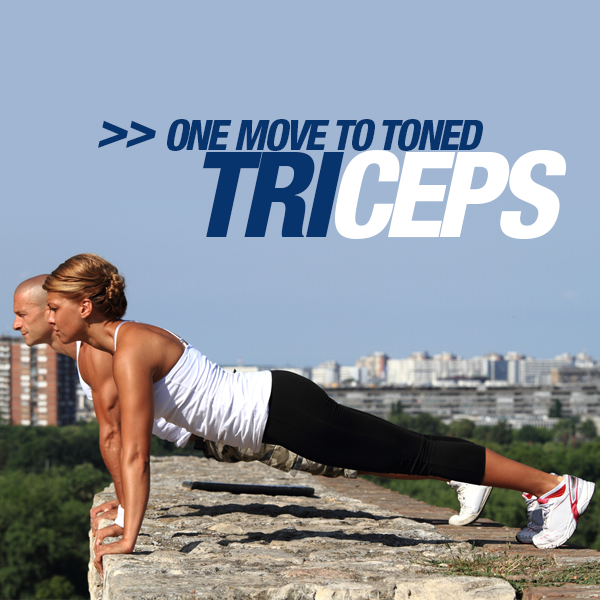 One Move to toned Triceps