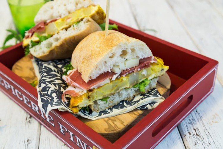 Potato Frittata Sandwich