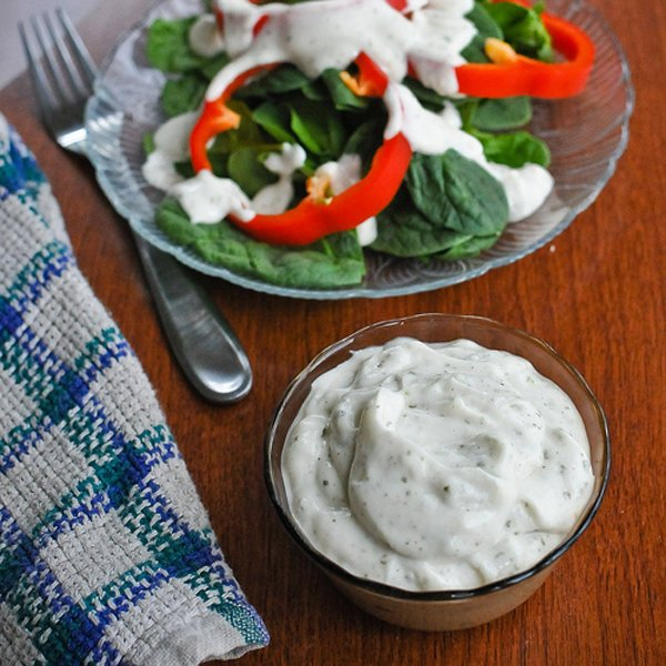 Ranch Dressing, Egg-Free & Dairy-Free