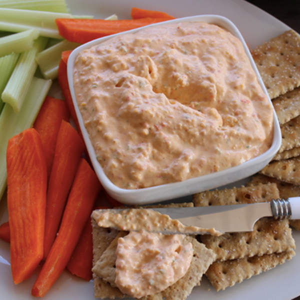 Skinny Pimento Cheese Spread