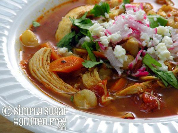 Slow Cooker Chicken Posole Stew