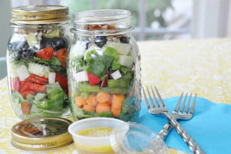 13 Clean & Lean Lunches in Mason Jars