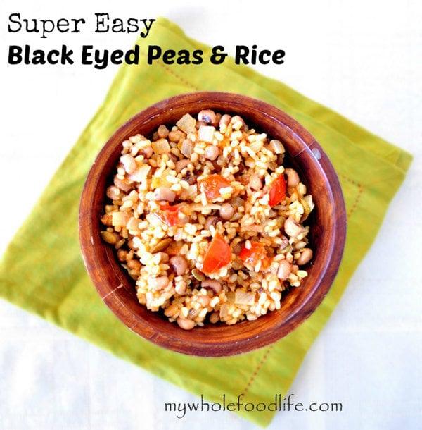 Super Easy Black Eyed Peas