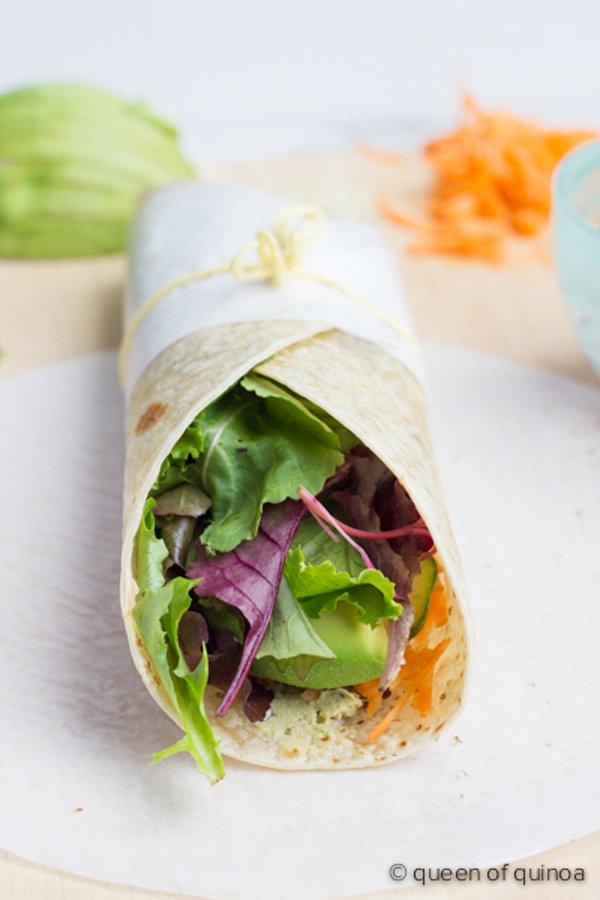 Veggie Wrap with Quinoa