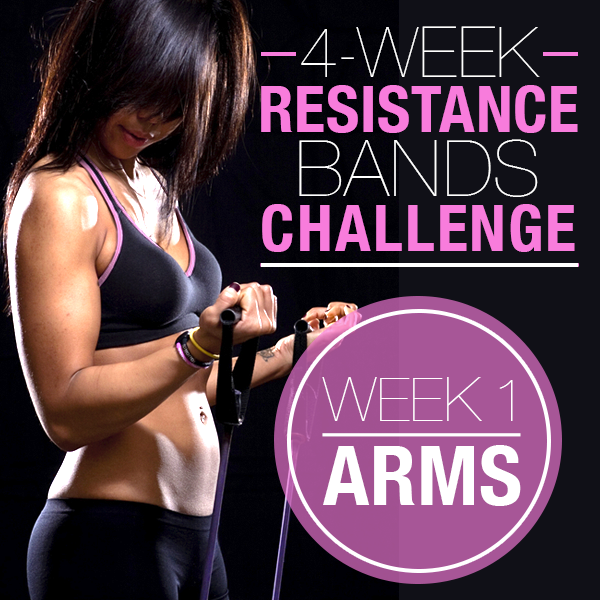4 Week Resistance Bands Challenge Week 1