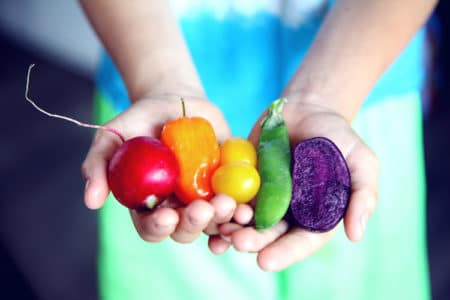 A High Fruit and Veggie Diet Lowers Risk Factors