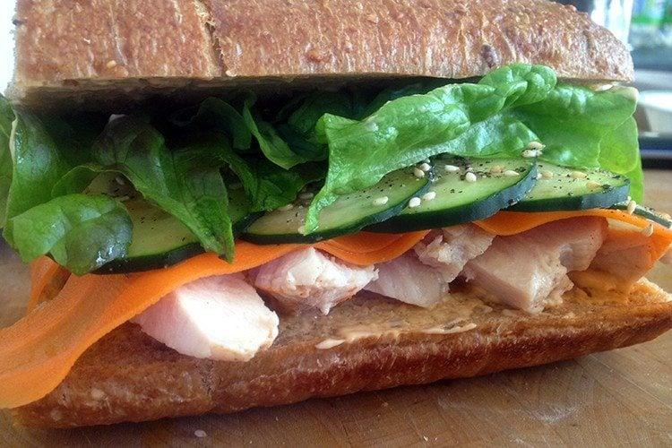 Asian Chicken Sandwich