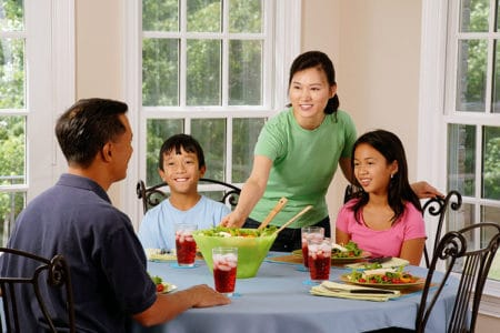 Family Dinners Help Kids with Cyberbullying