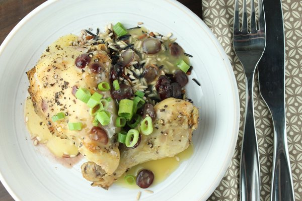 Orange Cranberry Chicken Recipe