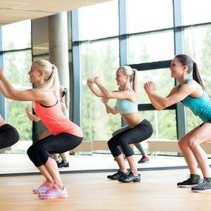 Get Lean: Squat Hold