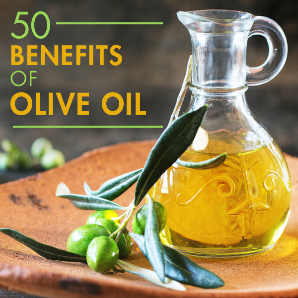 50 Benefits of Olive Oil