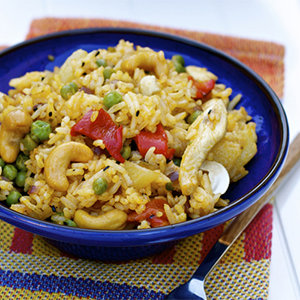 Asian Stir-Fry with Cashews and Chicken