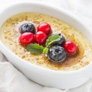Clean Eating Crème Brûlée