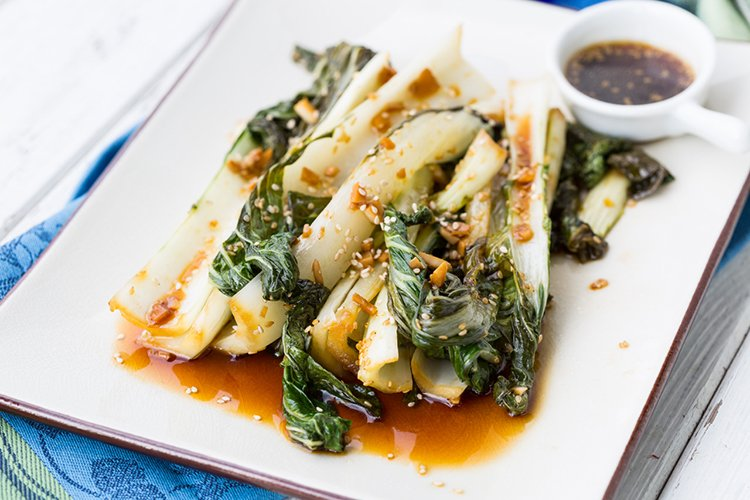 Garlicky Sautèed Bok Choy