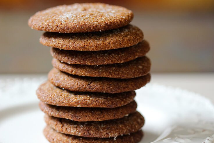 Holiday Ginger Spice Cookies