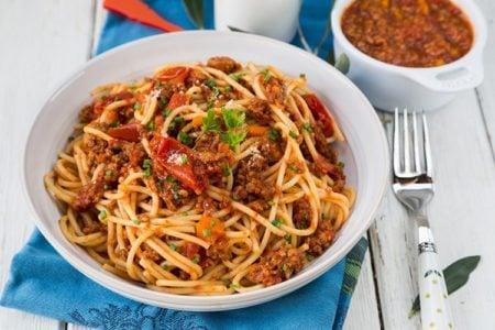 Slow Cooker Italian Spaghetti Meat Sauce