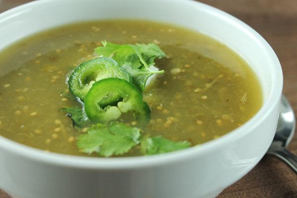 Slow Cooker Salsa Verde Soup Recipe