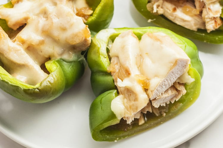 clean eating options stuffed peppers