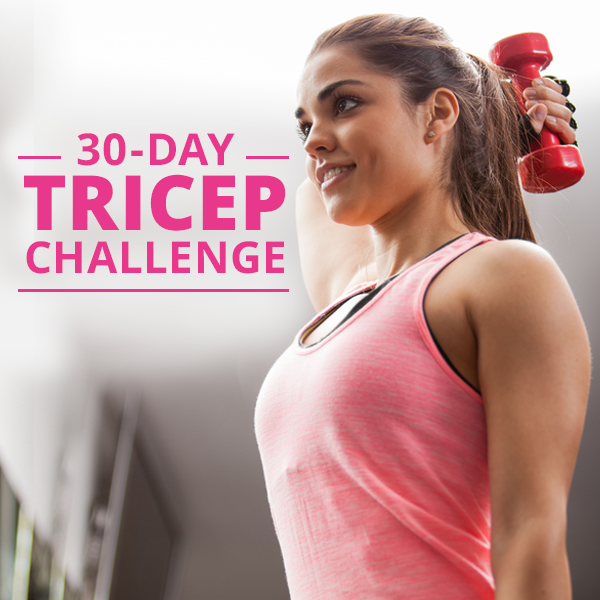 30 Day Tricep Challenge