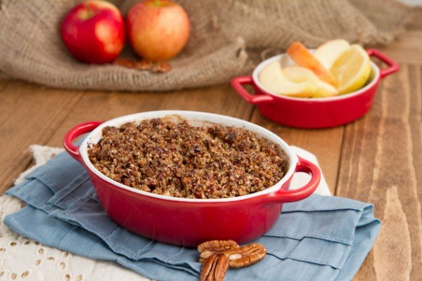 Apple Pie Quinoa Breakfast-Casserole