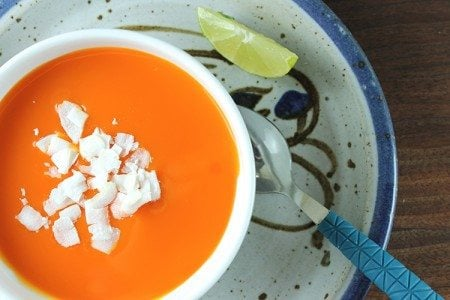 Curried Carrot and Ginger Soup