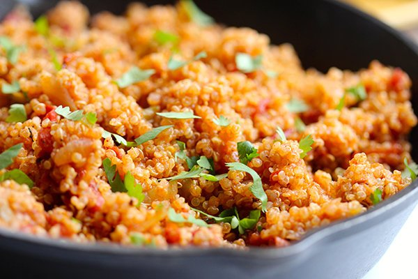 One-Pot Mexican Style Quinoa Recipe