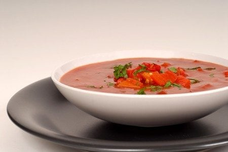 Raw Red Pepper Soup