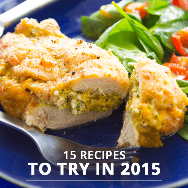 15 Recipes To Try In 2015