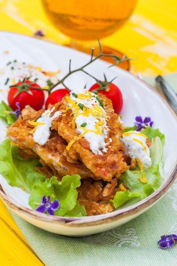 Cornflake Crusted Fish with Chili Tartar Sauce 2