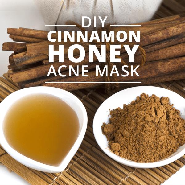 Diy Cinnamon Honey Acne Mask Skinny Ms