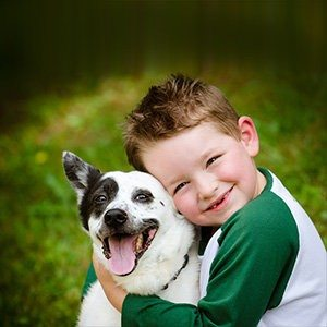 Part-time Pets Good for Kids and Animals
