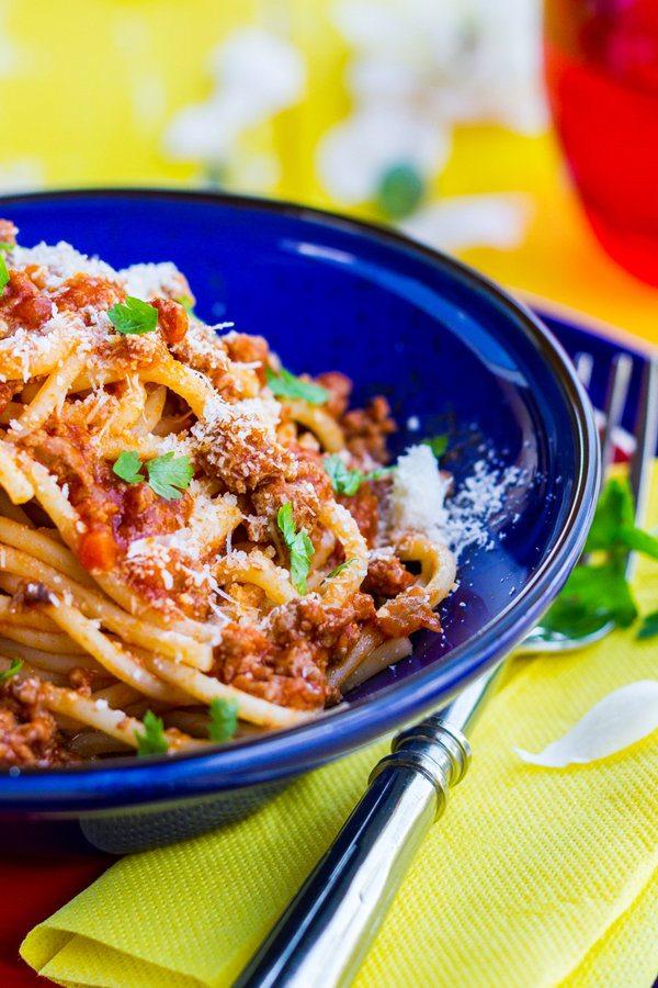 Spaghetti with Meat Ragu