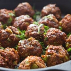 Spicy Asian Chicken Meatballs Recipe