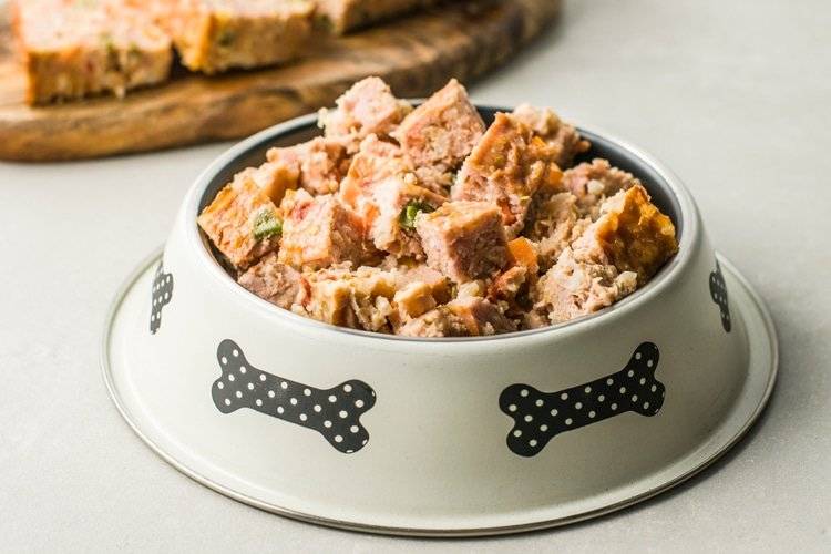 Homemade Turkey Loaf for Dogs