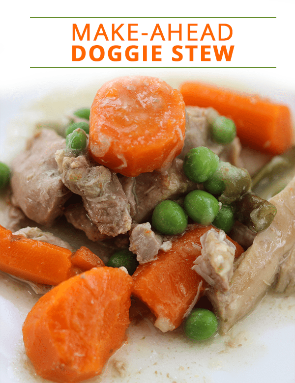 Make ahead doggie stew recipe homemade dog food recipe forumfinder Image collections