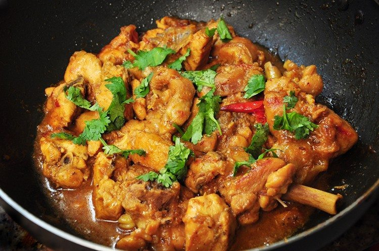 One-Pot Curried Coconut Chicken