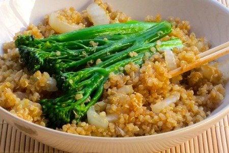 Skinny Quinoa Stir-Fry