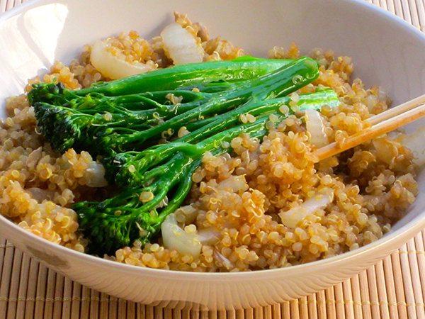 Skinny Quinoa Stir Fry