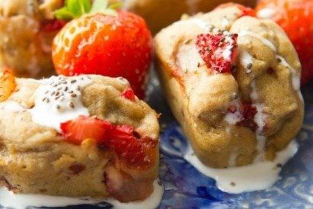 Skinny Strawberry-Banana Bread