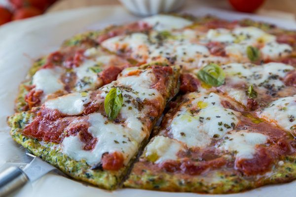 Mouthwatering Pizza made with Healthy Crust