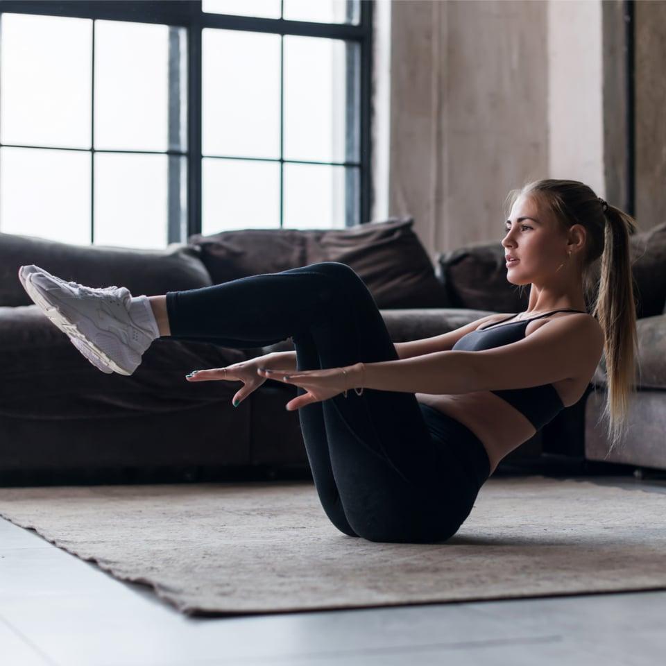 4-Week Body Weight Workout Program Schedule