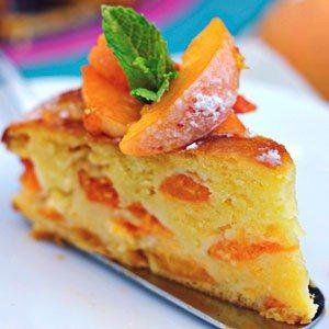 Apricot and Mascarpone Cake