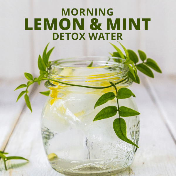 Lemon & Mint Detox Water