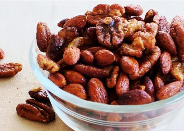 Slow Cooker Cinnamon Honey Nuts Recipe